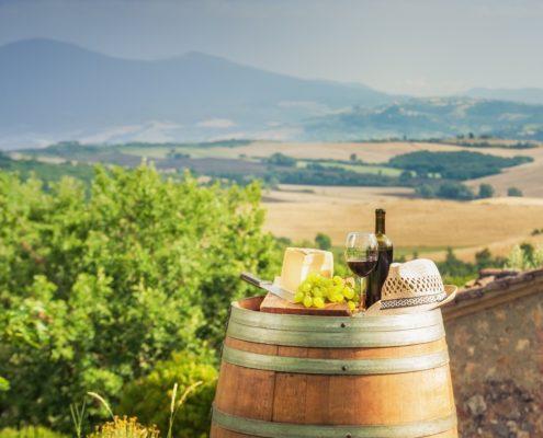 Pecorino Toscano DOP e vino formaggi e vini abbinamenti
