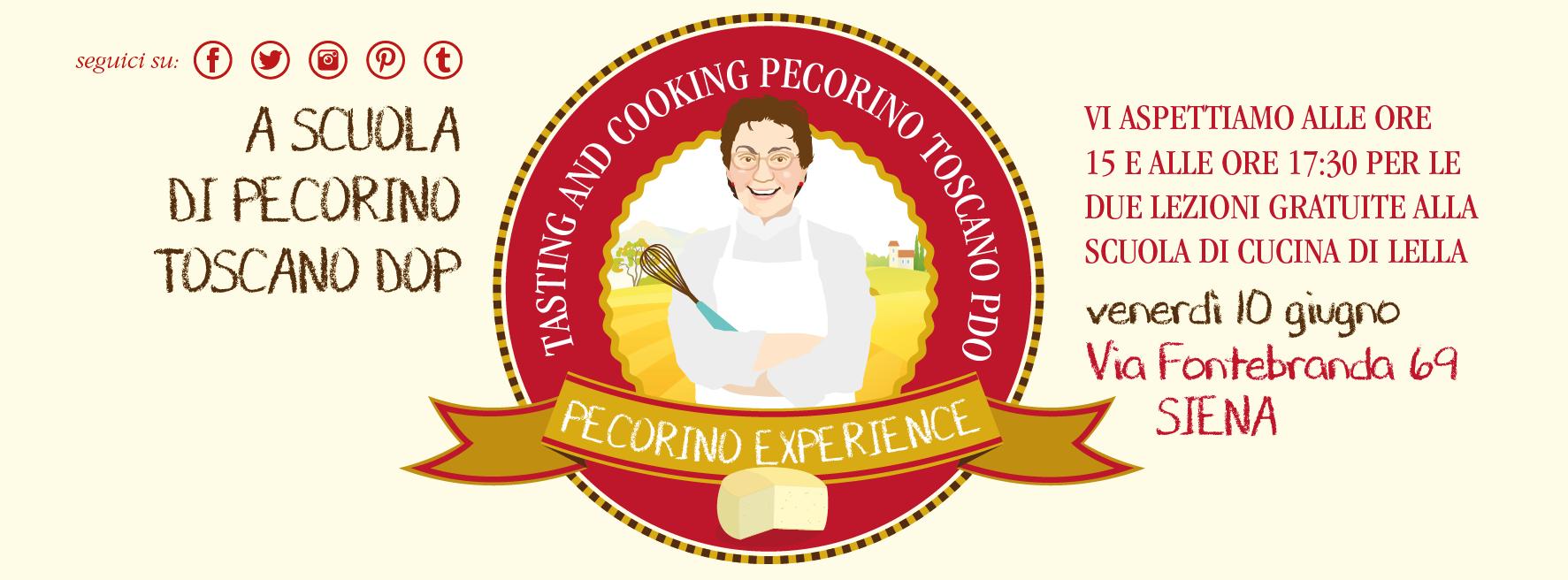 A scuola di Pecorino Toscano DOP - Scuola di Cucina di Lella - venerdì 10 giugno