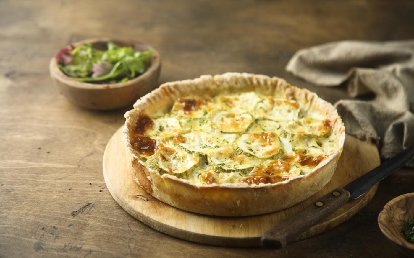 Quiche di zucchine e Pecorino Toscano DOP