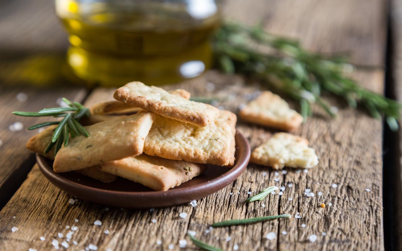 Crackers al Pecorino Toscano DOP